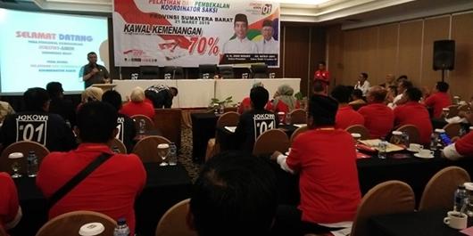 TKD Jokowi-Ma'ruf Amin Sumbar Ragukan Survei Litbang Kompas