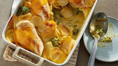 جراتان البطاطس مع الدجاج