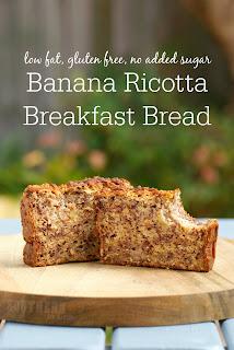 Healthy Ricotta Banana Bread Recipe for Breakfast