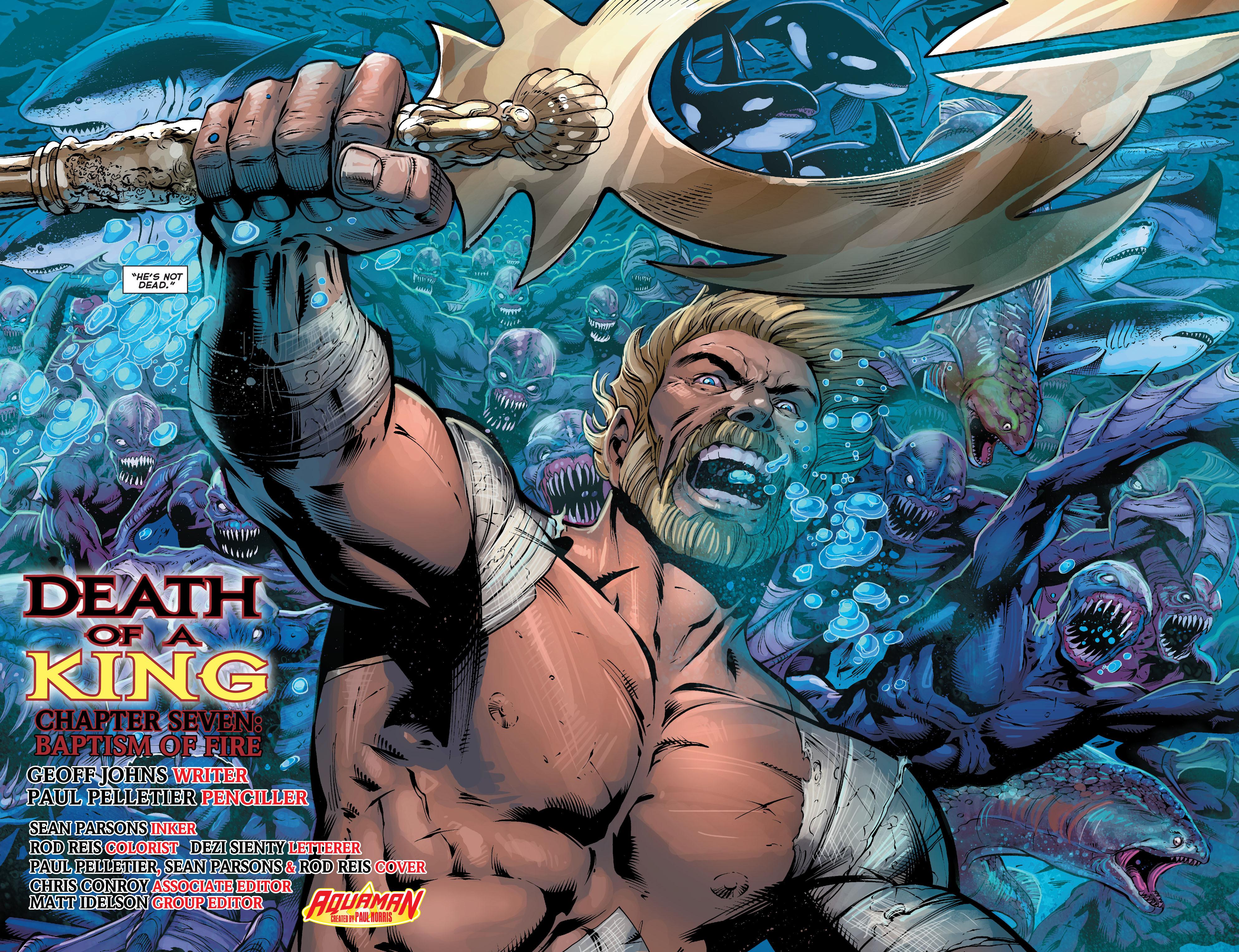 Read online Aquaman (2011) comic -  Issue #25 - 9