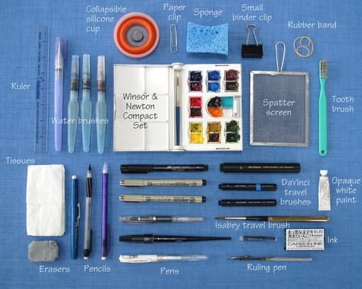 Everyday artist compact carrier for travel art supplies for Best paint supplies