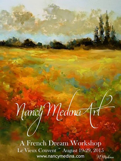 http://nancymedina.fineartstudioonline.com/page/4705/august-19-29-2015-le-vieux-couvent-southern-france-new