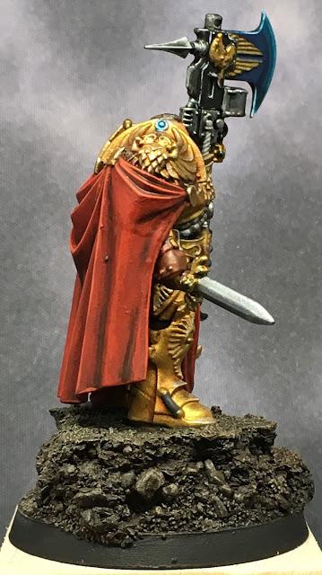 Adeptus Custodes Shield Captain