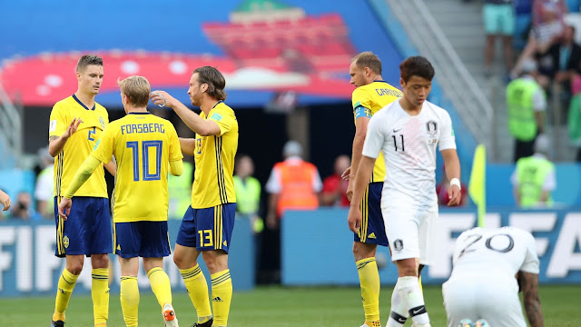 Russia 2018 FIFA World Cup: Sweden start with a 1-0 win over South Korea