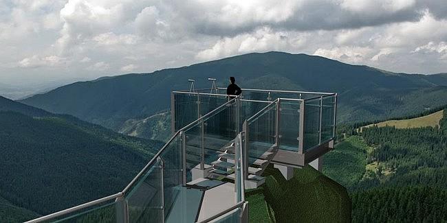 Punctul de belvedere de la Piatra Șoimului - Rarău poate fi finalizat până în august