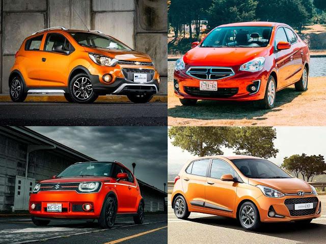 Los autos más baratos en México para 2019
