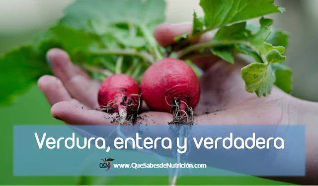 QSN: ¿Utilizas siempre la misma parte de las verduras?