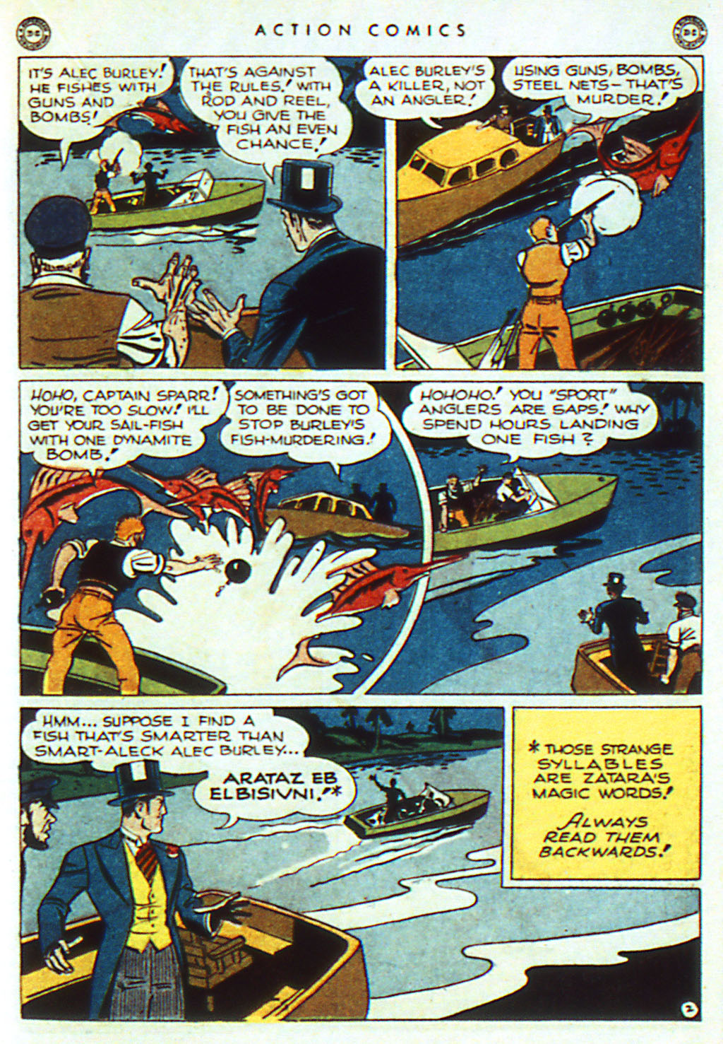 Read online Action Comics (1938) comic -  Issue #98 - 23