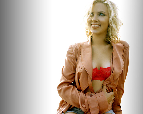 scarlett johansson model - photo #21