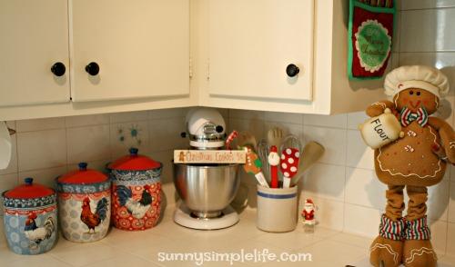 gingerbread decorating ideas, Christmas baking center