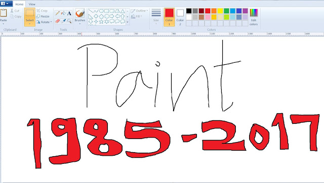 MS Paint | Microsoft To Kill Paint After 32 Years | TekkiPedia