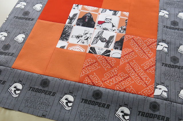 Work in progress - The Force Awakens collection by Camelot Fabrics