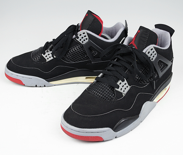promo code 49a6a 923f5 ... 50% off 1999 air jordan 4 retro bred black cement grey c39b6 cd42b