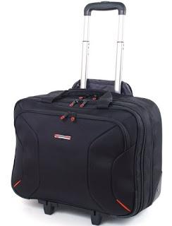 Alpine Swiss Rolling Briefcase on Wheels Roller 17 Laptop Case W Tablet Sleeve