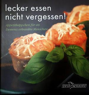 Kochbuch Lecker essen nicht vergessen