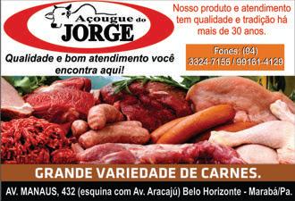 AÇOUGUE DO JORGE - MARABÁ/PA - AV. MANAUS BAIRRO BELO HORIZONTE