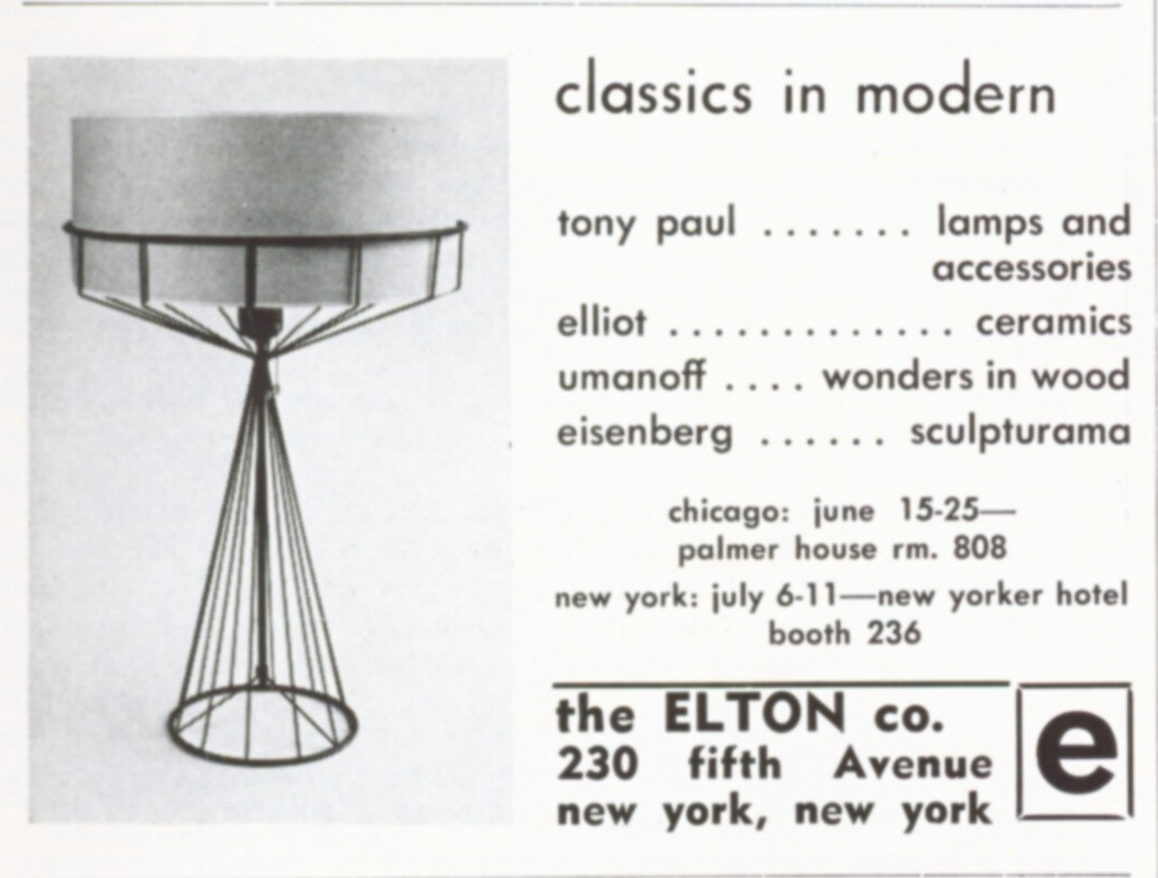 Arthur Umanoff: More than Metal: The rise and fall of the Elton Company