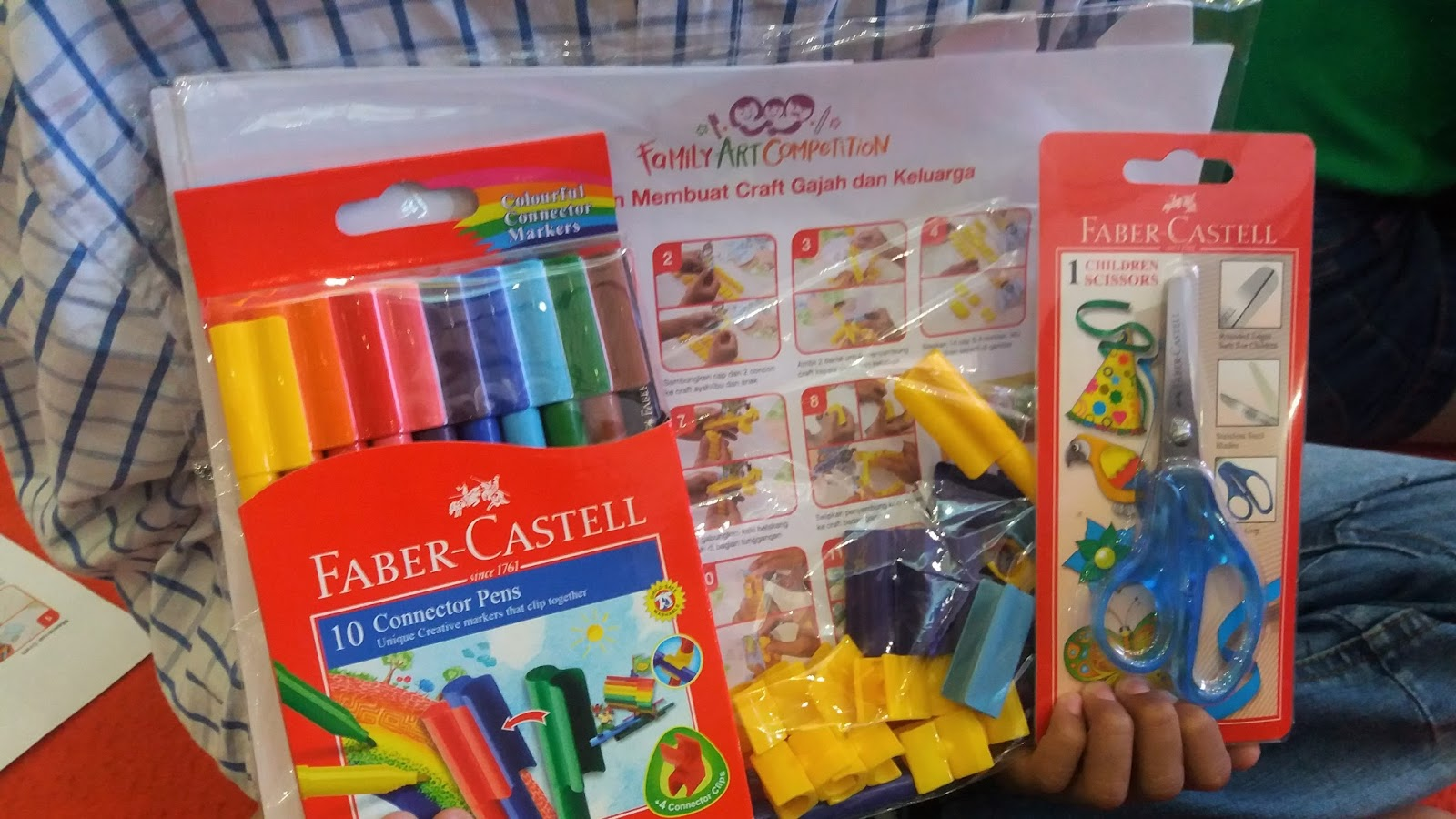 Family Art Competition Bersama Faber Castell Bukan Lomba Mewarnai