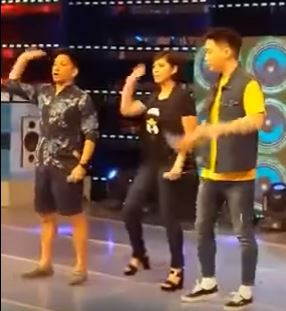 WATCH: Angel Performs The Cutest Dance On It's Showtime Stage!