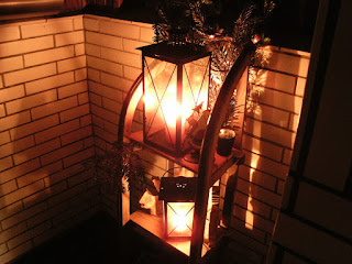 Schlitten Laternen Leuchten