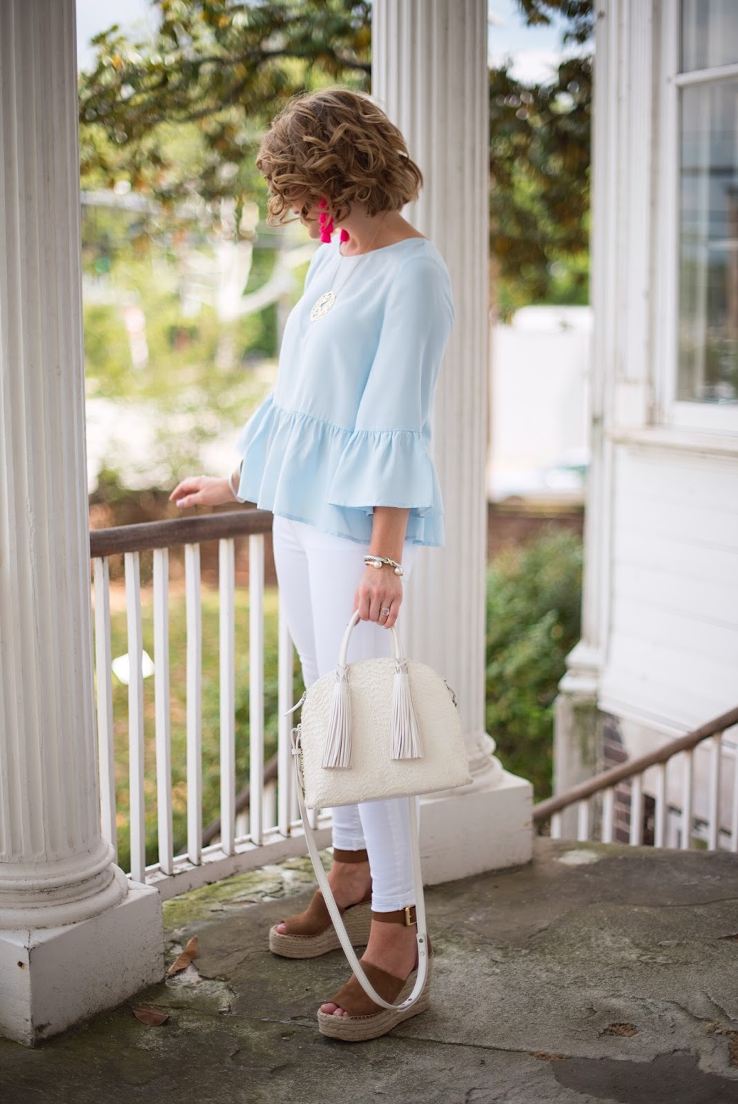 Spring Outfit Inspiration - Click through to see more on Something Delightful Blog.