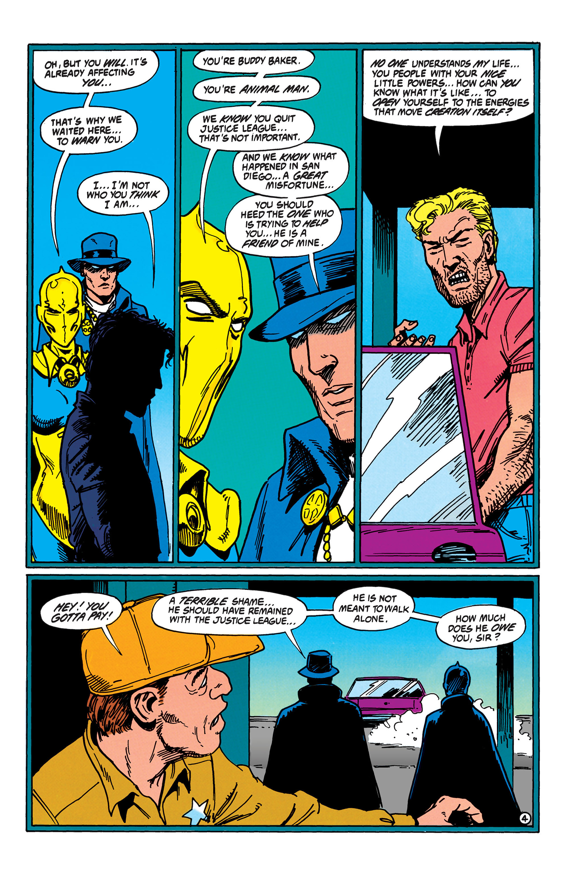 Read online Animal Man (1988) comic -  Issue #40 - 5