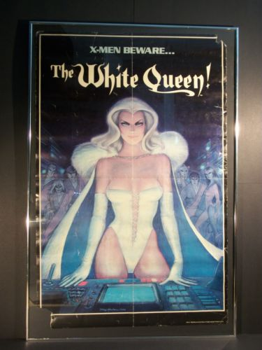 Erotic white queen