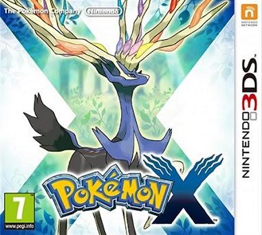 Pokémon X CIA 3DS USA