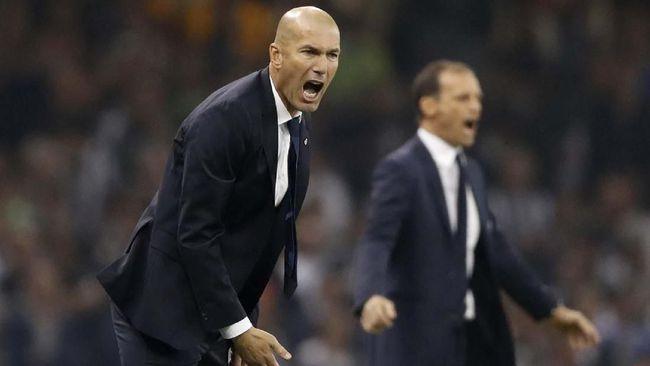 Zidane Diklaim Gabung Ronaldo Di Klub Italia Yaitu Juventus 2019