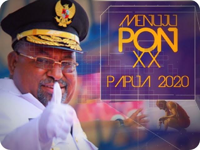 Lukas Enembe Minta Komentator Ikut Partisipatif dalam Persiapan PON XX 2020