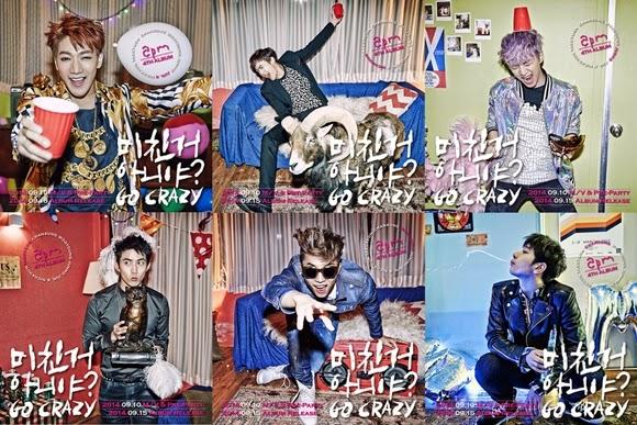 "Dianggap Vulgar, Lagu ""Go Crazy"" Milik 2PM Dilarang Tayang di KBS"