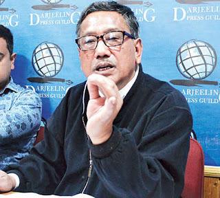 Darjeeling Municipality Chairman D.K. Pradhan