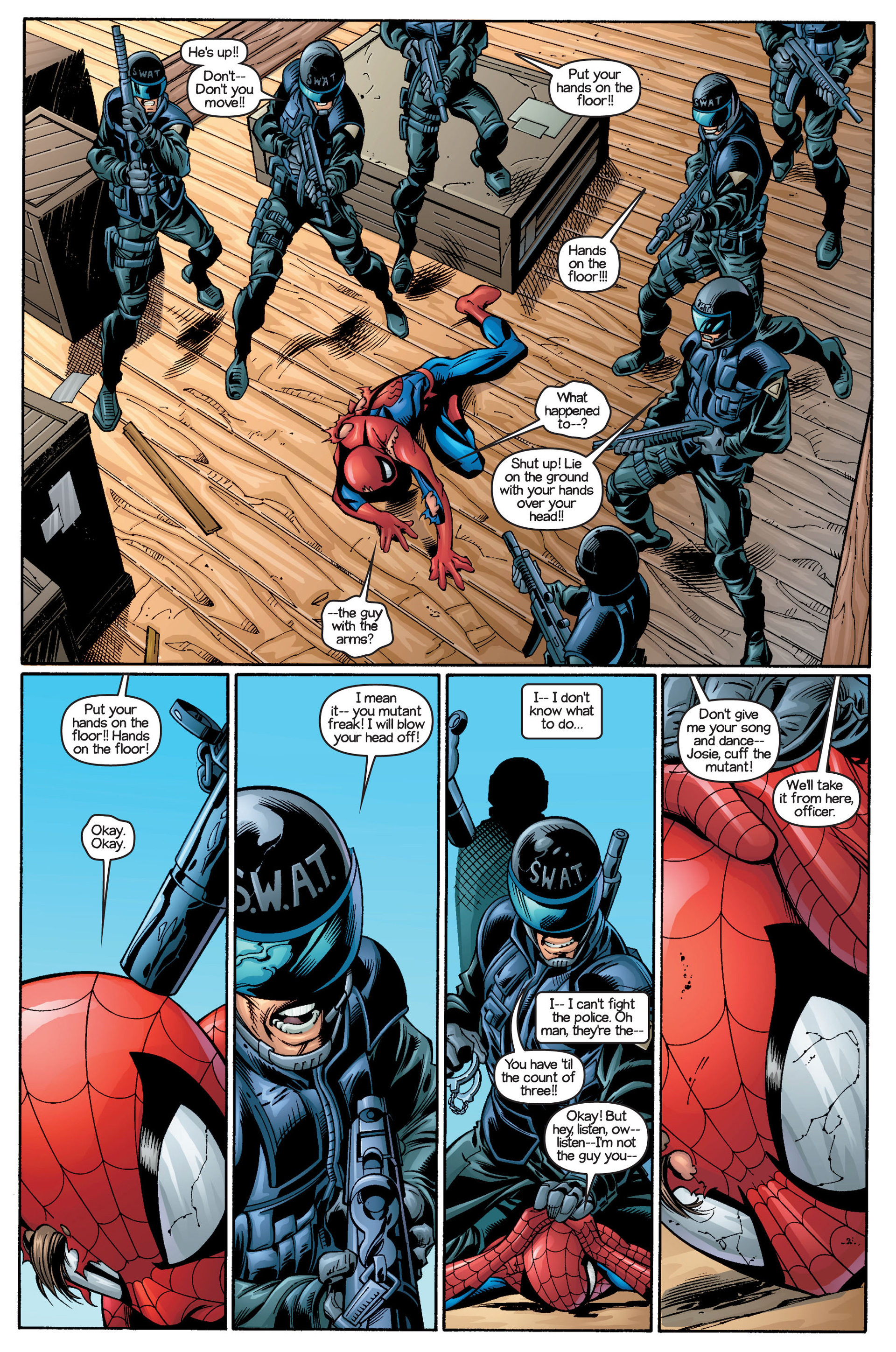 Read online Ultimate Spider-Man (2000) comic -  Issue #18 - 9