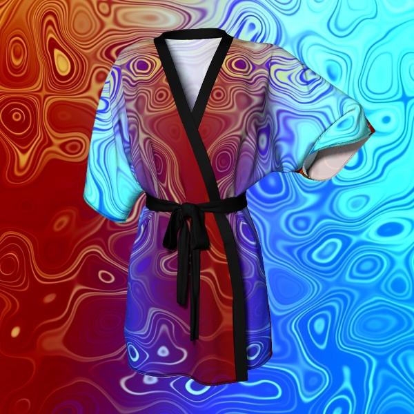 Artofwhere Kimono Robe by Thomas Abernathy