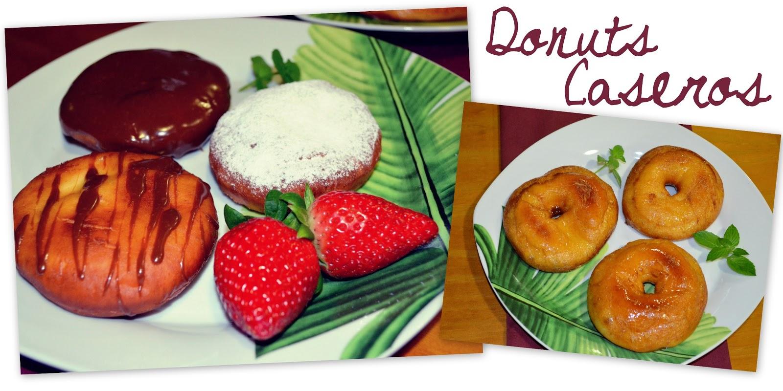 Receta paso a paso Donuts caseros