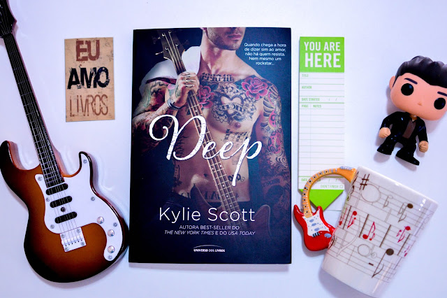 [Resenha] Deep | Kylie Scott (Stage Dive #4) | Kylie Scott