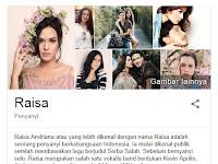 16 Fakta Menarik Raisa Andriana Seorang Penyanyi Cantik Dan Primadona Indonesia