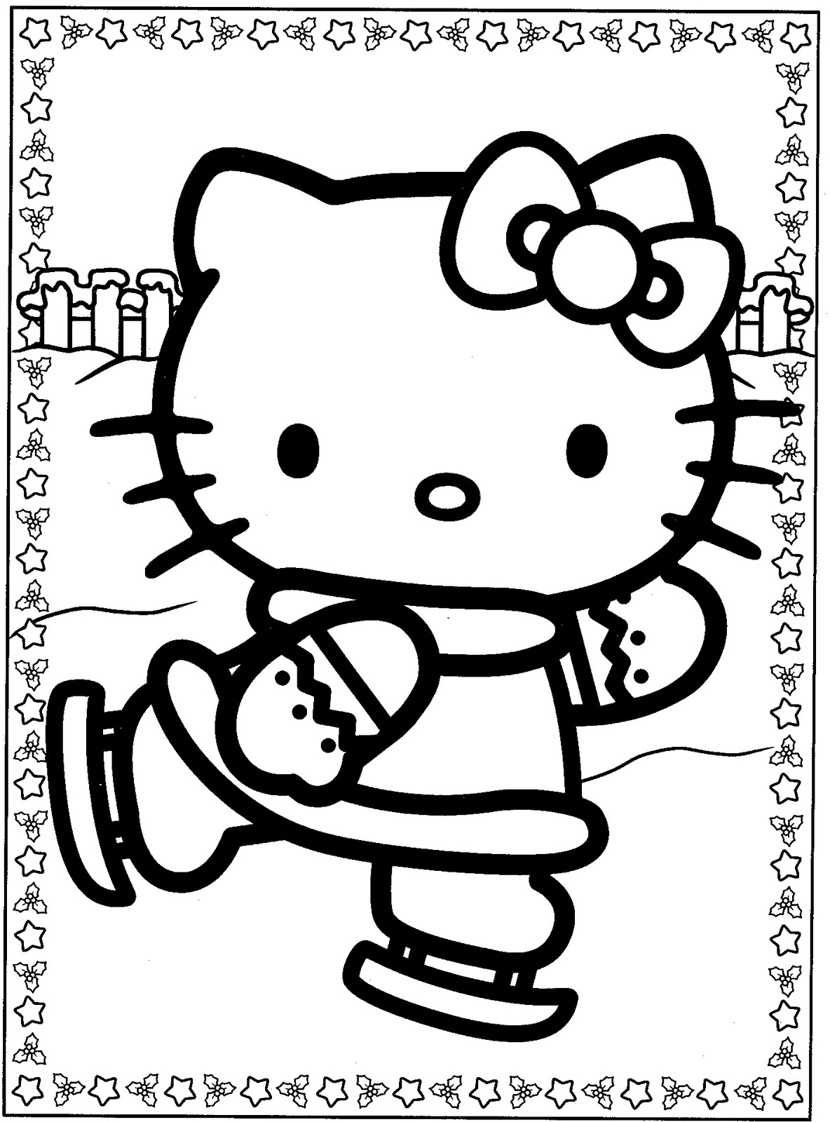 Hello Kitty Coloring Hello Kitty And Coloring