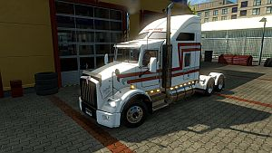 Trans Scotti paint job for Kenworth T800