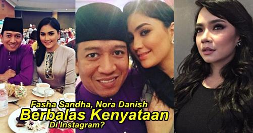 PANAS! LAGI FASHA & NORA DANISH BERPERANG DI INSTAGRAM ...  Fasha Sandha Dan Nora Danish