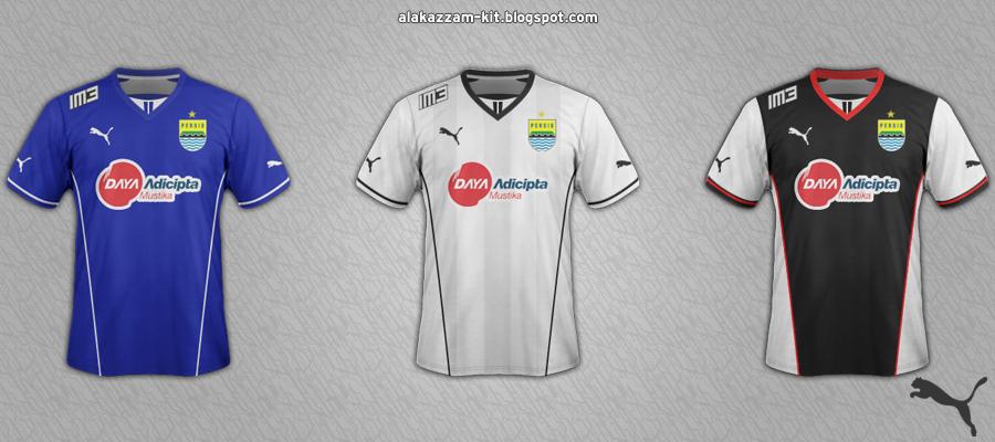 Persib Bandung Home, Away & Third Fantasy Kits (Puma