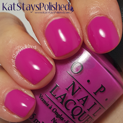 OPI Brights - The Berry Thought of You | Kat Stays Polished