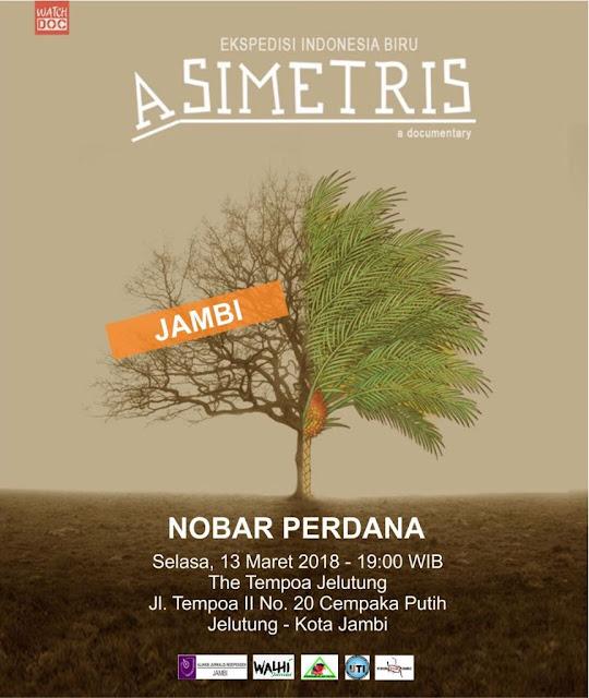 Besok, Asimetris Serentak Ditayangkan Perdana di 27 Kota, Salah Satunya di Jambi