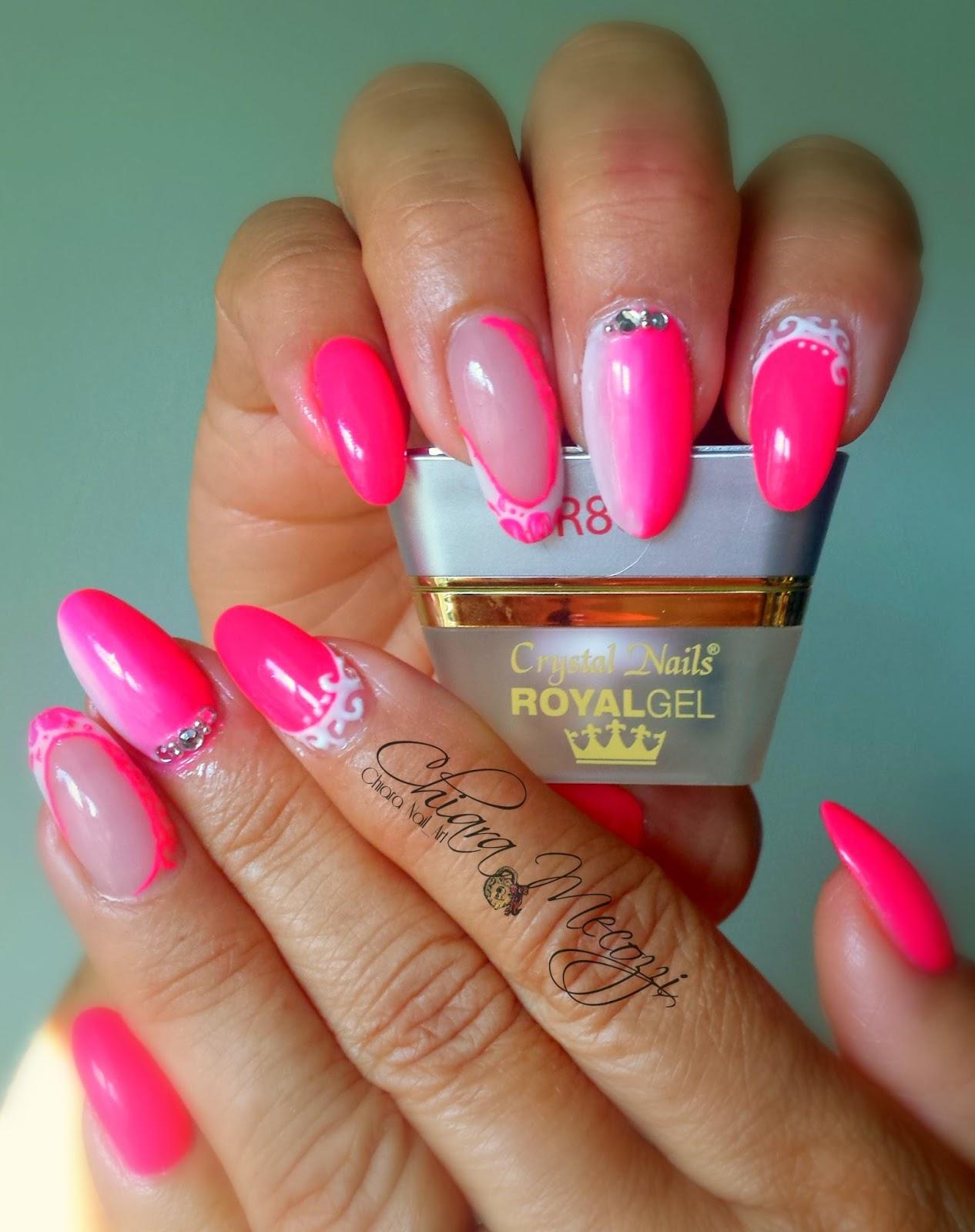 Unghie raffinate e piene di colore con i prodotti crystal nails italia chiara nail art blog - Unghie gel specchio ...