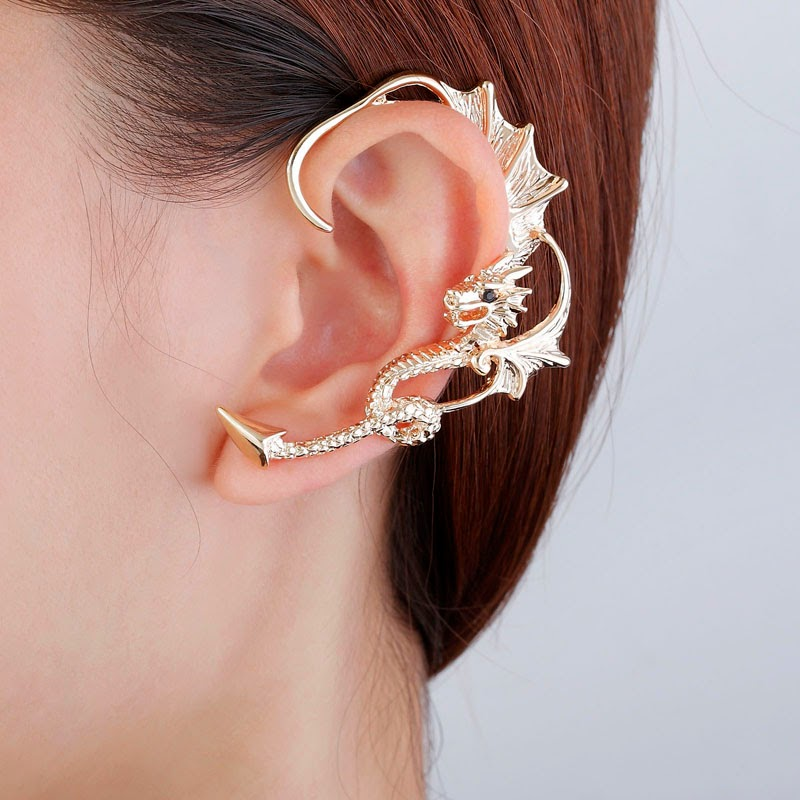 Alice: Must Have These Four Trendy Ear Cuff Wrap Earrings