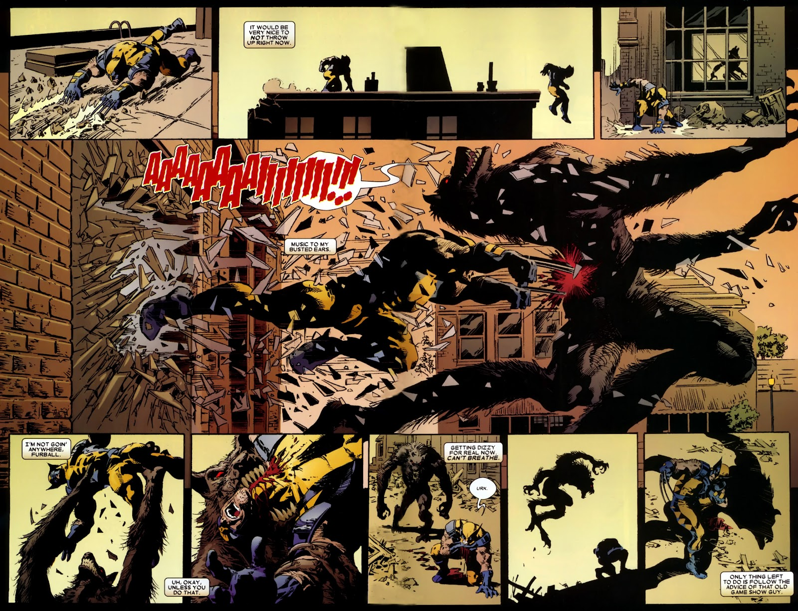 Read online Wolverine (2003) comic -  Issue # Annual 2 - 25