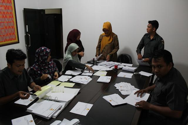 Bawaslu Riau Siapkan Undangan Pelantikan 12 Panwaslu Kabupaten/Kota Se-Provinsi Riau