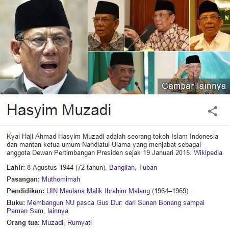 Fakta-Fakta Kyai Haji Ahmad Hasyim Muzadi Dan Berita Terbarunya