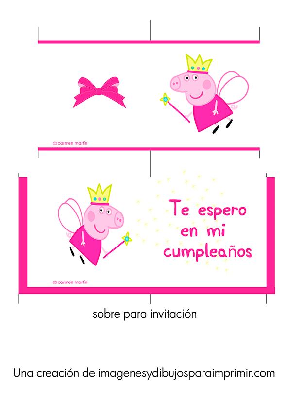 Invitaciones De Peppa Pig Para Imprimir Imágenes Y Dibujos