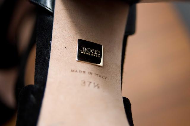 logo spód buta Hugo Boss